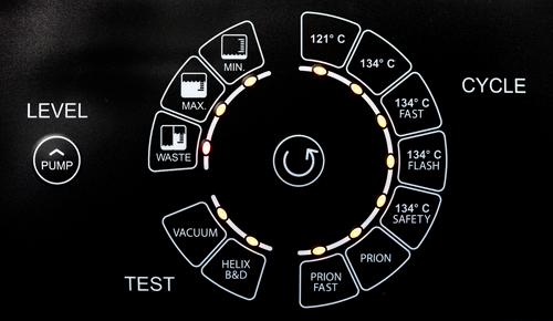 7 cykli sterylizacji autoklaw onyxb