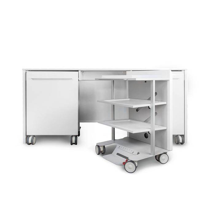 Smart trolleyla prima linea di mobili tecnici tecno gaz for Arredamento studio odontoiatrico