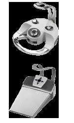 Pedaliere wireless per riuniti odontoiatrici serie Tygi